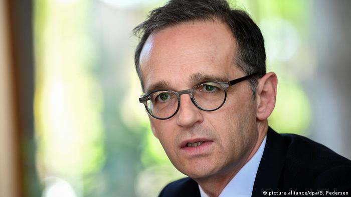 German Foreign Minister Heiko Maas (picture alliance/dpa/B. Pedersen)