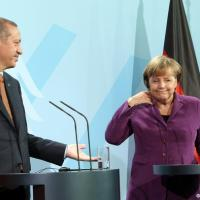 Germany's Angela Merkel keeps Turkey at arm's length