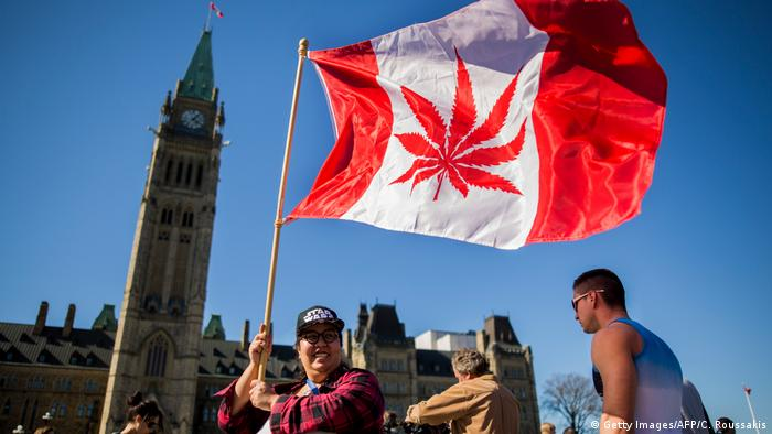 Marijuana Day in Canada (Getty Images/AFP/C. Roussakis)