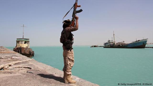 Jemen Meerenge Bab al-Mandab (Getty Images / AFP / S. Al-Obeidi)