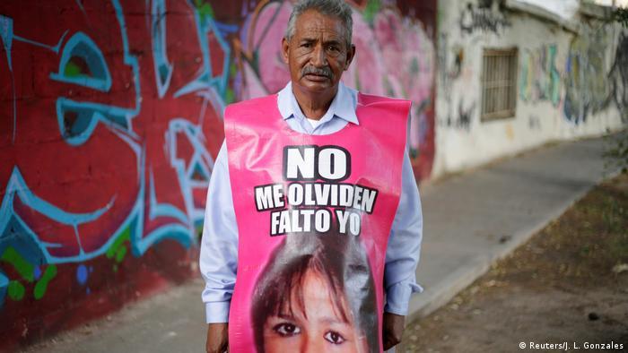 Mexiko - Jose Luis Castillo vermisst seine Tochter (Reuters/J. L. Gonzales)