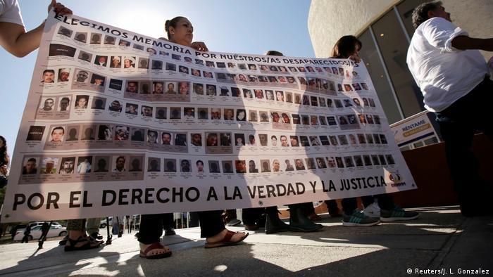 Mexiko - Proteste für vermisste (Reuters/J. L. Gonzalez)