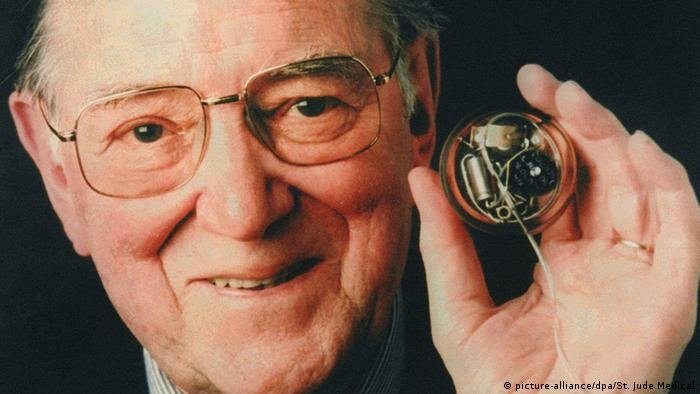 The Swede Arne Larson received the first implanted pacemaker in 1958
