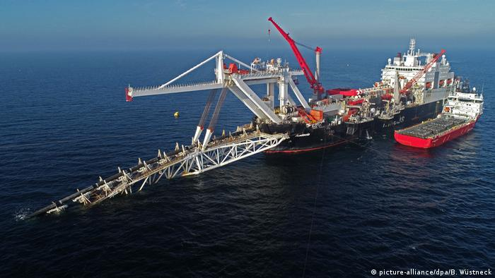 Germany Nord Stream 2 off the island of Rügen (picture-alliance / dpa / B. Wüstneck)