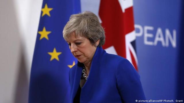 Brüssel EU Brexit Abkoomen Theresa May (picture-alliance / AP Photo / A. Grant)