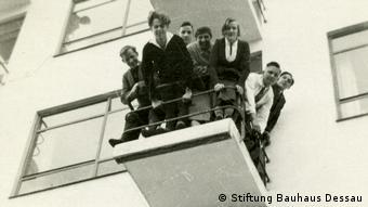Dessau Bauhausköpfe (aus dem Bauhaus-Fotoalbum von Fritz Schreiber) (Stiftung Bauhaus Dessau)