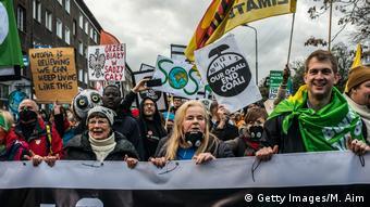 UN-Klimakonferenz 2018 in Katowice, Polen | Greenpeace-Protest (Getty Images/M. Aim)