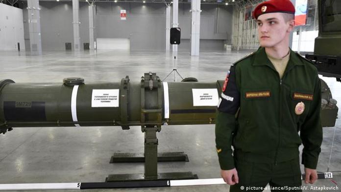 Russia's new rocket (picture-alliance/Sputnik/V. Astapkovich)