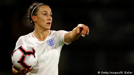 Lucy Bronze, Fußballspielerin Nationalmannschaft England (Getty Images / N. Baker)