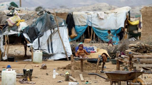 Bildergalerie Jemen Binnenflüchtlinge (Reuters / K. Abdullah)