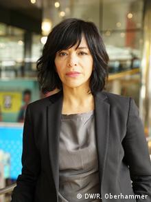 DW Global Media Forum 2019 | Freedom of Speech Award | Anabel Hernández (DW/R. Oberhammer)