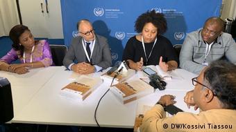 Indien Konferenz der UNO zu Wüstenbildung (DW/Kossivi Tiassou)