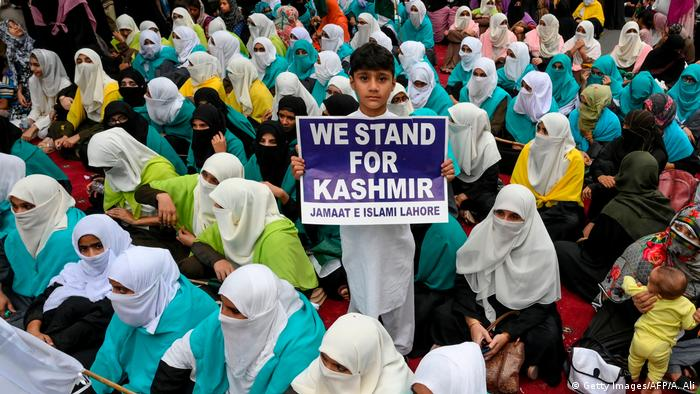 Protests in Kashmir (Getty Images/AFP/A. Ali)