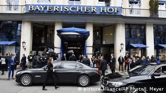 Hotel Bayerischer Hof - Veranstaltungsort der Münchner Sicherheitskonferenz