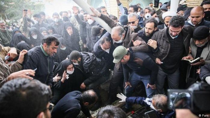 Iran Beisetzung Hossein Asadollahi (Fars)