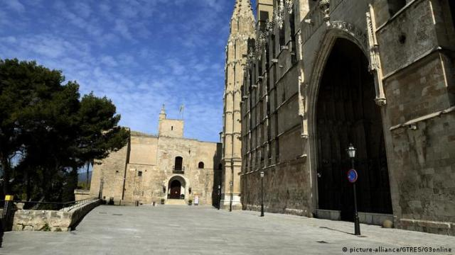 Exterior view of the Royal Palace in Palma de Mallorca (picture-alliance/GTRES/G3online)