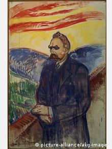 Friedrich Nietzsche, as painted by Edvard Munch in 1906 (picture-alliance/akg-images)