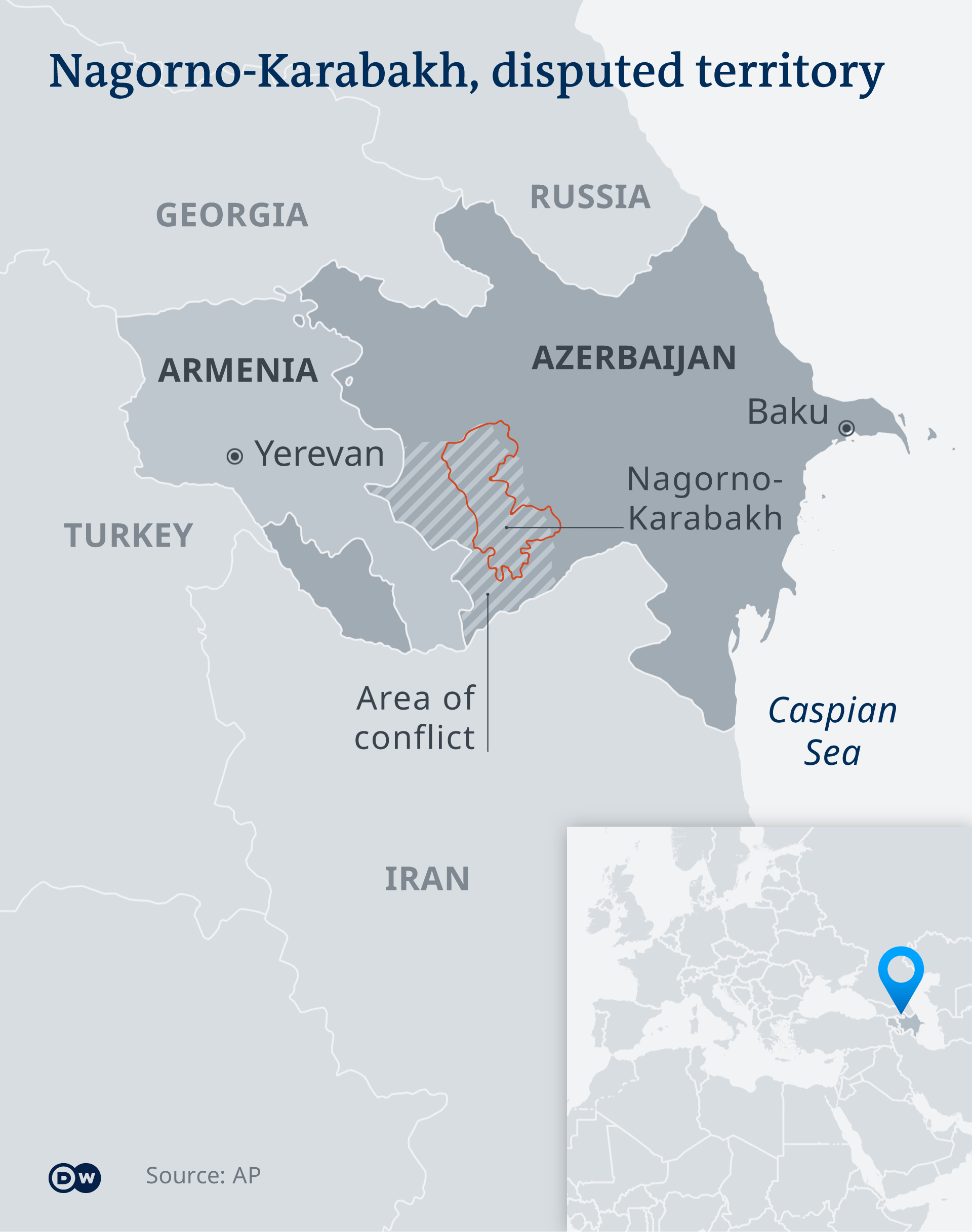 Armenia Reports Heavy Fighting With Azerbaijan In Disputed Nagorno Karabakh Region Gagrule Net