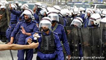 Bahrain Manama Unruhen (picture-alliance/landov)