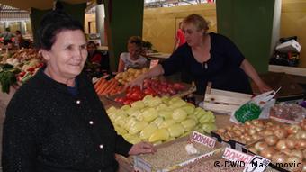 Prodavačice na tržnici