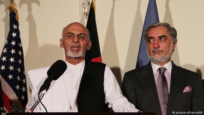 Archivbild Einigung über Einheitsregierung in Afghanistan unterzeichnet