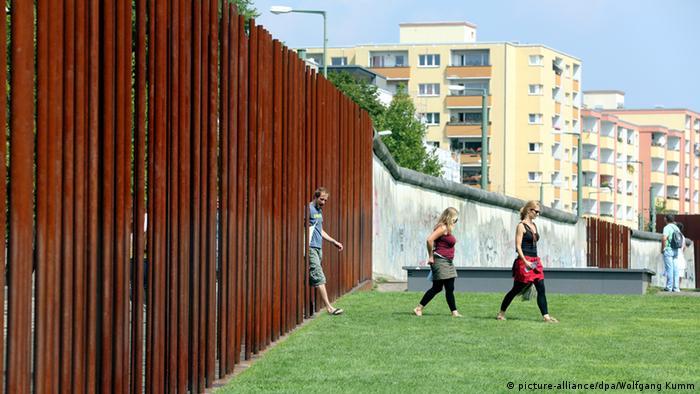 Mauergedenkstätte an der Bernauer Straße in Berlin