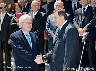 Josipović i Dodik