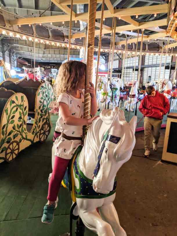 OCNJ Gillian's Pier Carousel