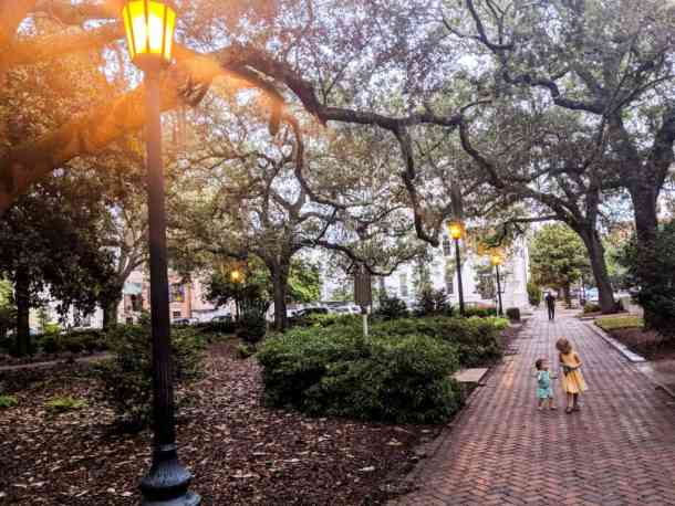 Sightseeing in Savannah GA