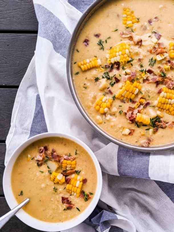 Dwardcooks Corn Chowder