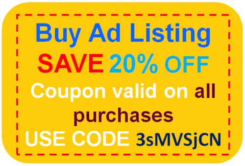 buy ads listing 20% saving coupon dwarka classifieds