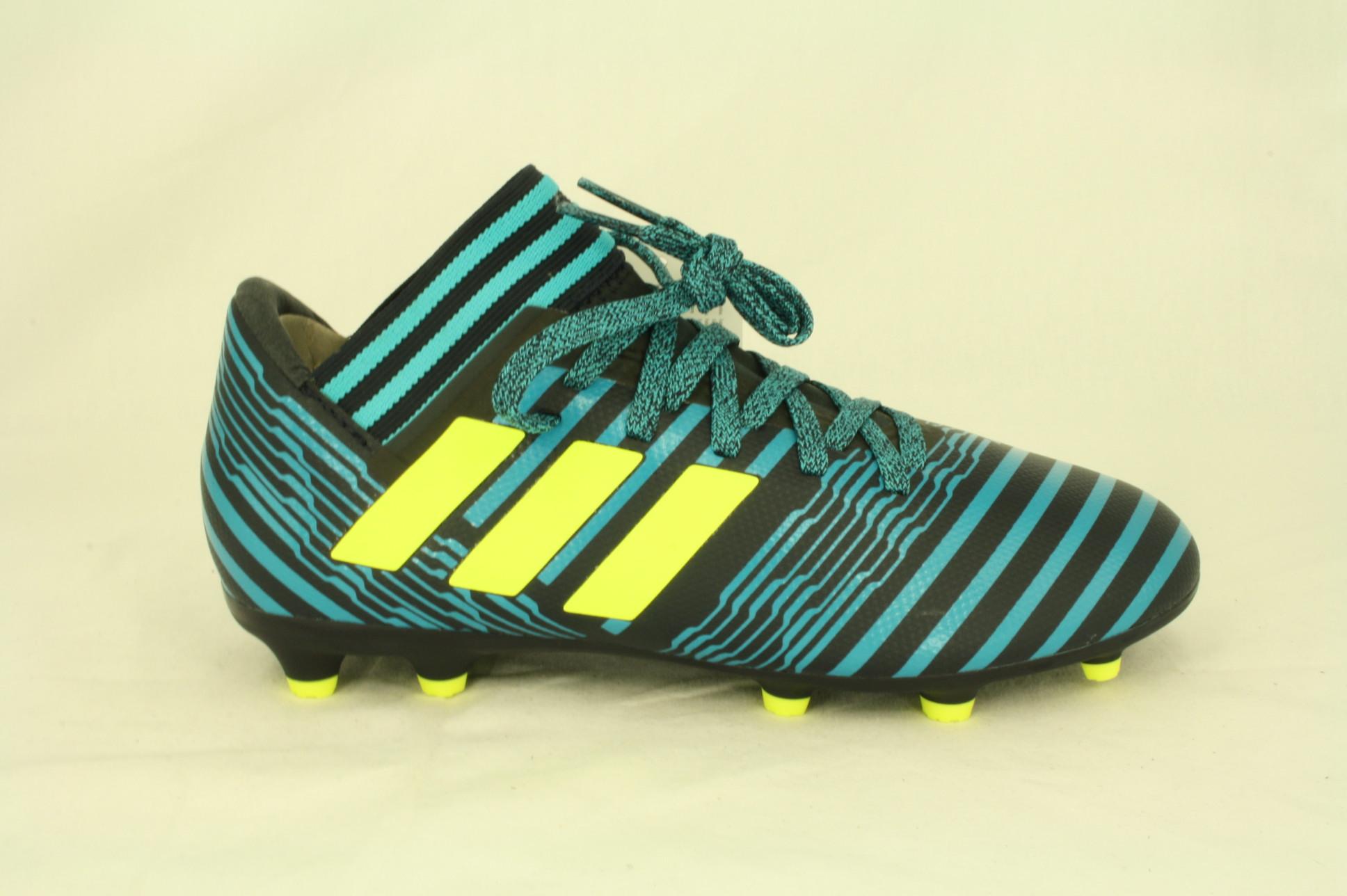 adidas voetbalschoenen zwart blauw