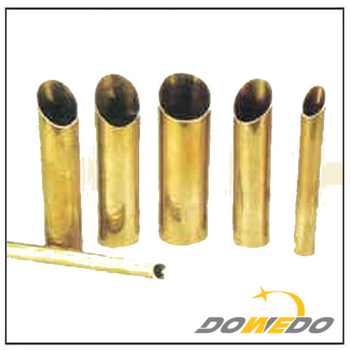 Brass Oval Tube