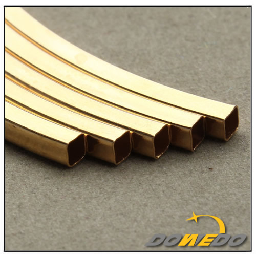 China Brass Square Pipes