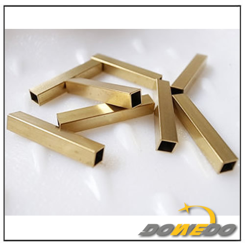 Square Customized Brass Tubes