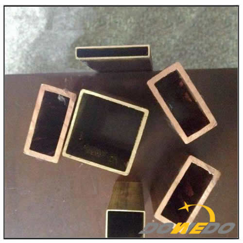Customized Brass Rectangle Pipes