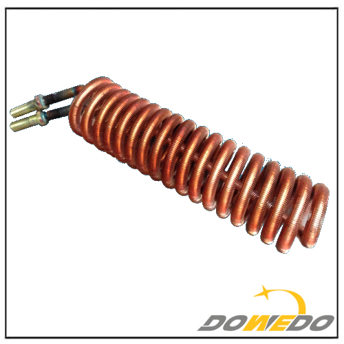 Coiling Finned Copper Tube