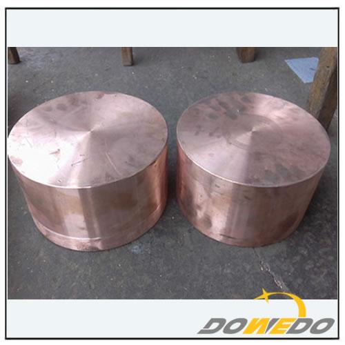 Large Diameter Copper Cylinder
