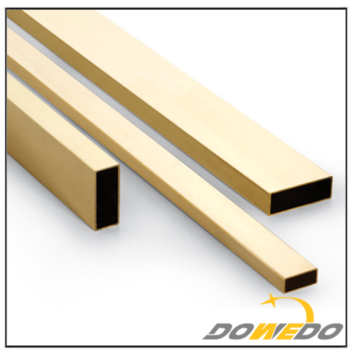Brass Rectangular Tubing