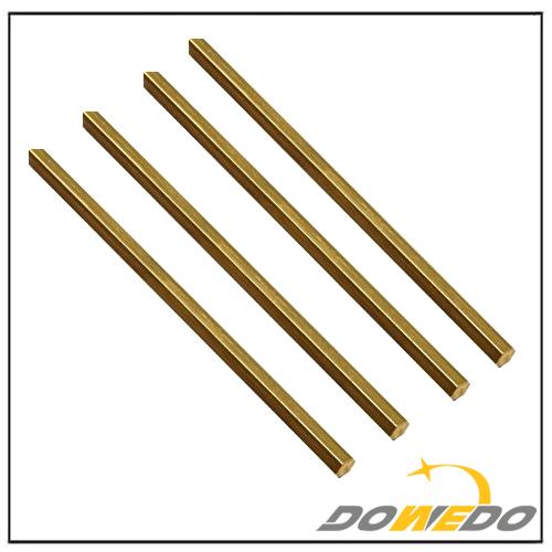Hexagonal ASTM B21 C464 Brass Bar