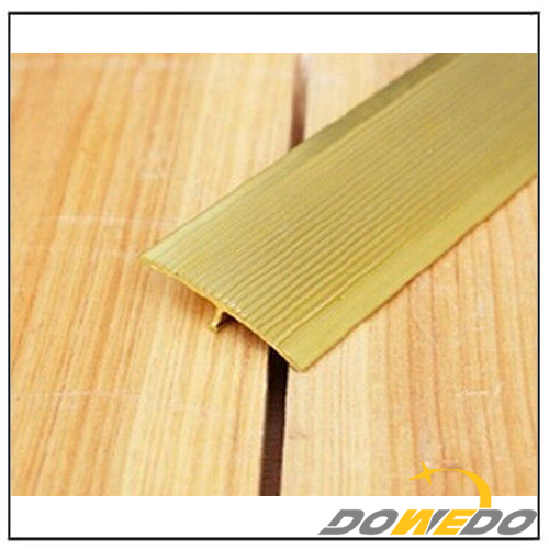 T-Shaped Brass Floor Extrusion