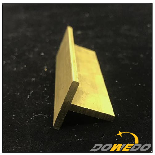 Window Center T Framed Brass Profile Extrusion
