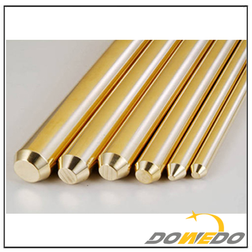 Brass Extrusion Profile Sections