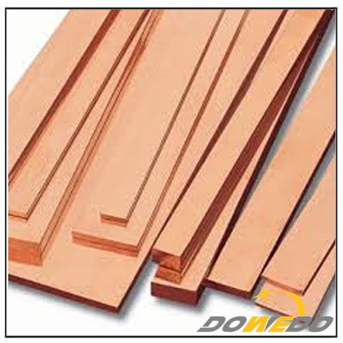 Flat Rectangular Copper Bars