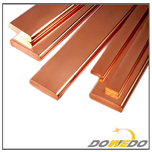 Flat Solid Copper Bar