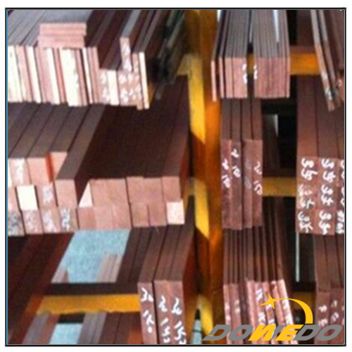 OEM Dimension Copper Rectangular Bars