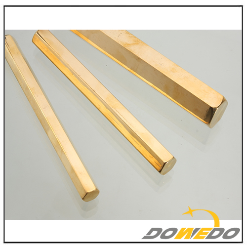 Sixangles Brass Bars