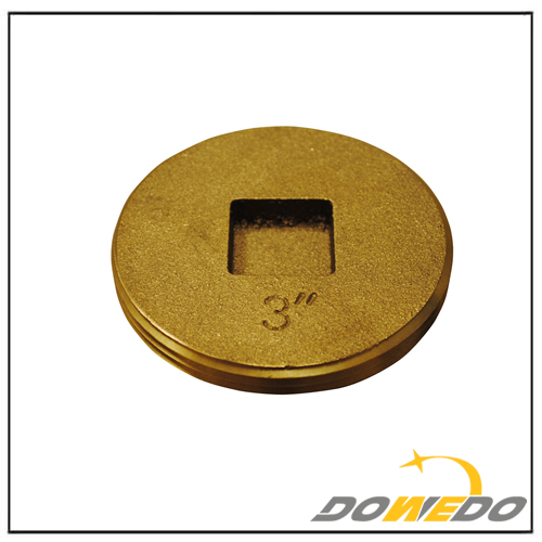 Brass Clean Out Plug 3inch