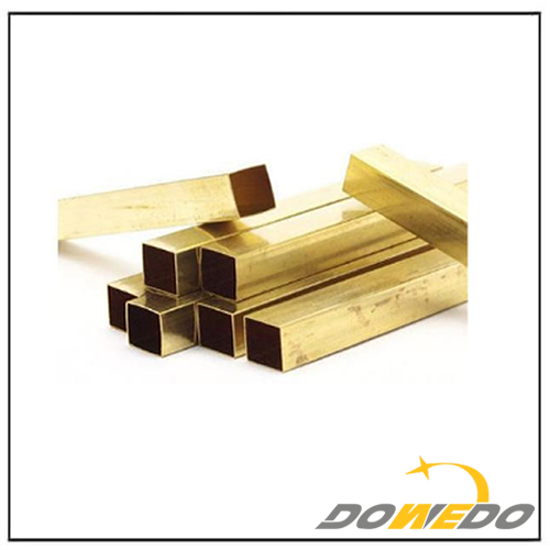 Customized Square Brass Tubes