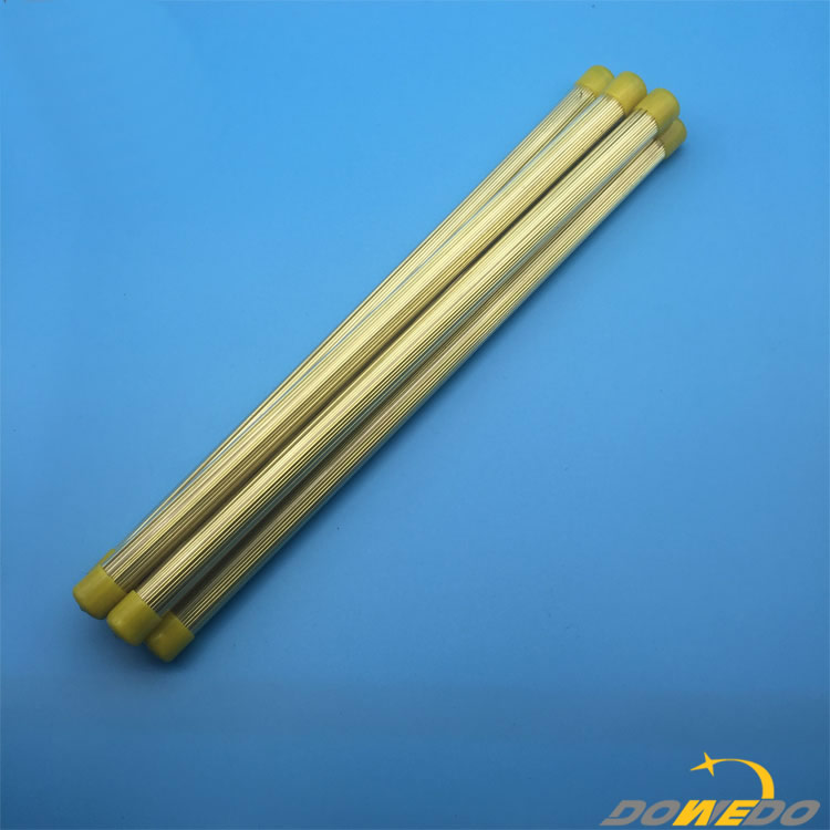 EDM Brass Electrode Pipe For EDM Drilling Machine